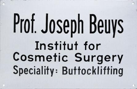 Joseph Beuys, 'Institut for Cosmetic Surgery', 1974
