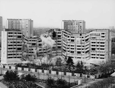 Mathieu Pernot, 'Implosions, Meaux, 17 Avril. ', 2005