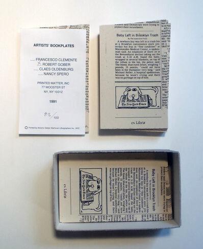 Robert Gober, 'Untitled (Bookplates)', 1991