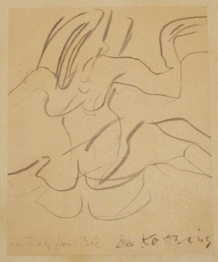 Willem de Kooning, 'Female', 1968