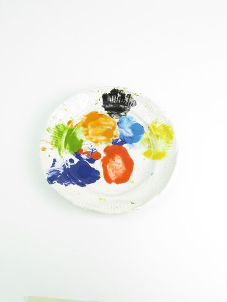 Rose Eken, 'Paper Plate Palette 1', 2018