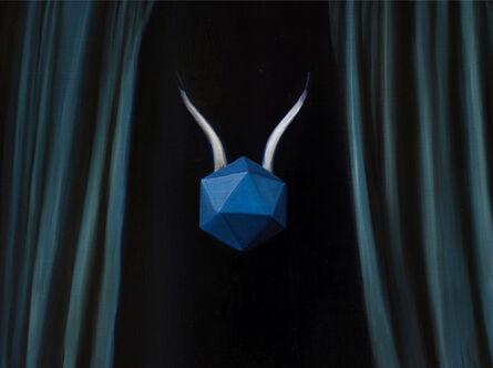 Silvia Idili, 'Geometric Body Blue', 2018