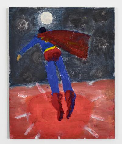 Katherine Bradford, 'Superman to Moon', 2015