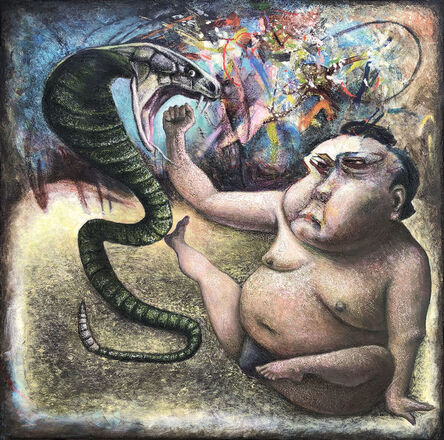 Nathalie Tierce, 'The Snake and The Sumo', 2019