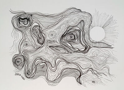 Drica Lobo, 'Whimsical Waves', 2020