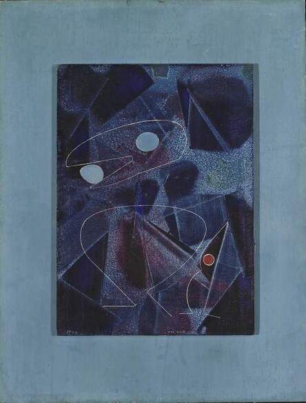 Max Ernst, 'Au moindre bruit les oiseaux se taisent', 1972