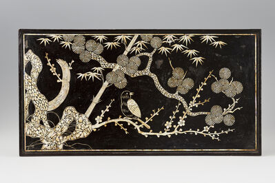 Unknown Artist, 'Table with bird and tree motifs', 1700-1800