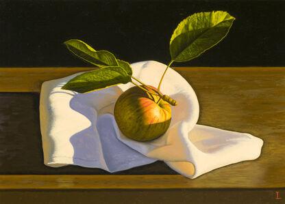 David Ligare, 'Still Life with Apple on Cloth', 2014