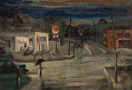 McKie Trotter, 'Intersection', 1947