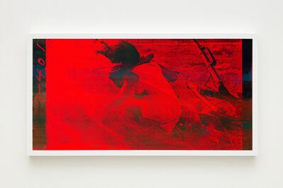 Hank Willis Thomas, 'Learn, Baby, Learn (multi on red)', 2019