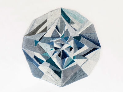 "Camilla Iliefski, '""Diamond"" Rug', 2017"