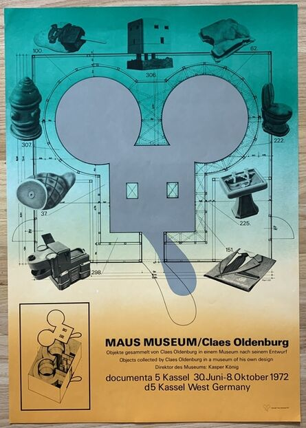 Claes Oldenburg, 'Maus Museum', 1972