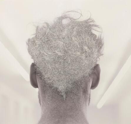 William Mackrell, 'Back of Bernd's head', 2016