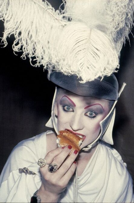 'Night out with Boy George', 1980