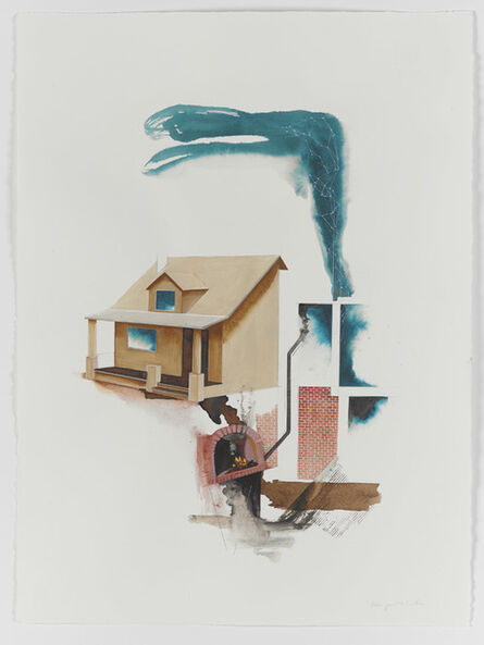 Margaret Curtis, 'I Dreamed I Found a House Inside My House Accessible Only Through the Basement (Version 2)', 2020