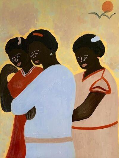 Cassi Namoda, 'Lurdes, Vania, & Maria on Sunday in Quelimane town', 2021