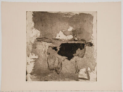 Esteban Vicente, 'Letter', 1963