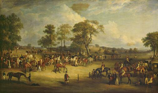 John Ferneley, 'Heaton Park Races', 1829