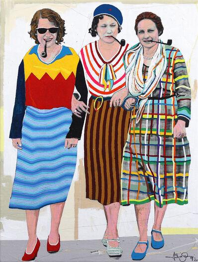 Fabio Coruzzi, 'Three Women #7', 2020