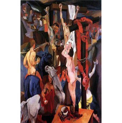 Renato Guttuso, 'Crucifixion', 1941