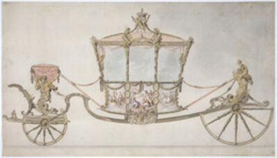 Sir William Chambers, 'Design for the State Coach', 1760
