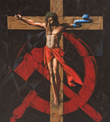 Vitaly Komar, 'Cross and Sickle', 2007-2009