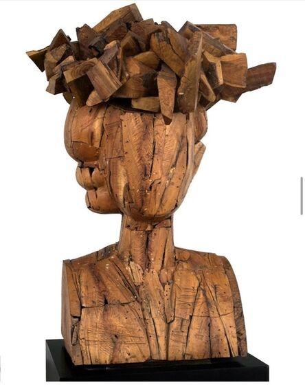 Manolo Valdés, 'Regina con sombrero', 2006