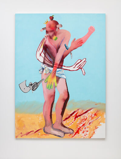 Alessandro Pessoli, 'Neglected Figure', 2018