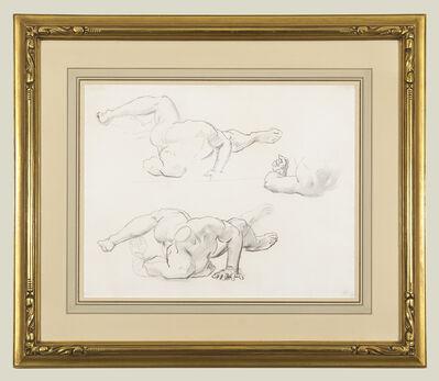 John Singer Sargent, 'Studies for Medusa', 1922-1925