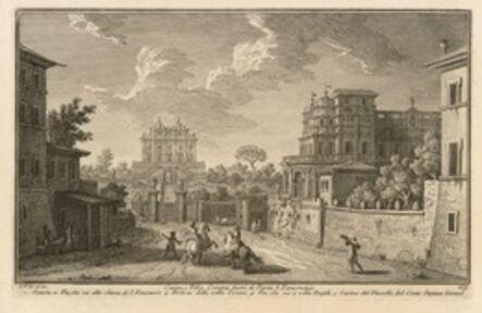 Giuseppe Vasi, 'Casino, e Villa Corsini Fuori di Porta S. Pancrazio', 1747-1801