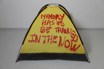 Thierry Geoffroy /COLONEL, 'MEMORY HAS TO BE TRAINED IN THE NOW', 2017
