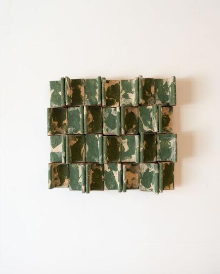 Ben Medansky, 'Earth Tone Fin Wall Work', 2020