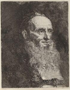 Giovanni Domenico Tiepolo, 'Old Man with a Beard', ca. 1762
