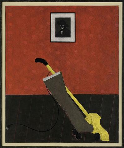 Kerry James Marshall, 'Portrait of the Artist & a Vacuum', 1981