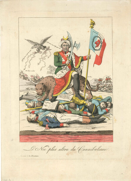 Unknown French, 'La France Constitutionnelle', 1814