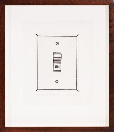 Roy Lichtenstein, 'On (Switch)', 1962