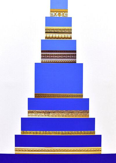 Derrick Velasquez, 'Trim Void (Blue Stack)', 2020