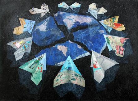Regina Granne, 'Shattered World', 2004