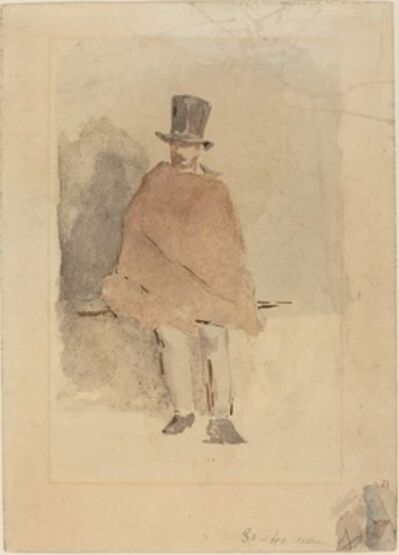 Édouard Manet, 'The Man in the Tall Hat', 1858/1859