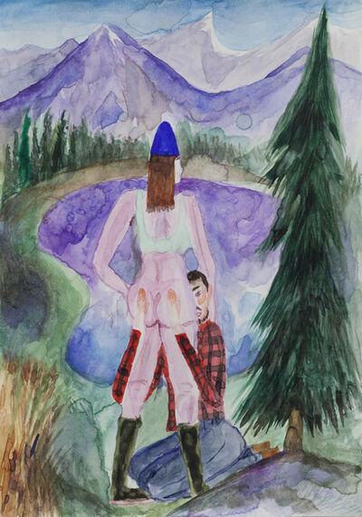 Charlie Roberts, 'Purple Mountain Tops', 2017