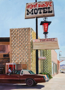 Patricia Chidlaw, 'Desert Sunset Motel', 2014