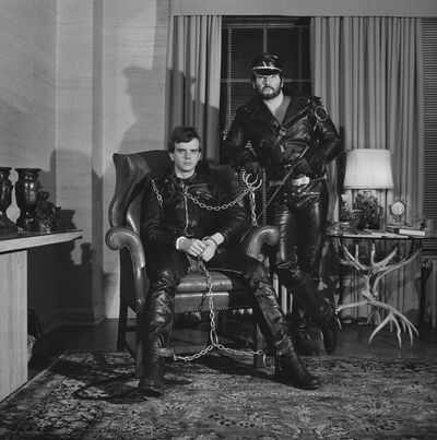 Robert Mapplethorpe, 'Brian Ridley and Lyle Heeter', 1979