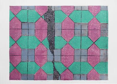 Lina Puerta, 'Pattern 1 Magenta + Purple + Green', 2015