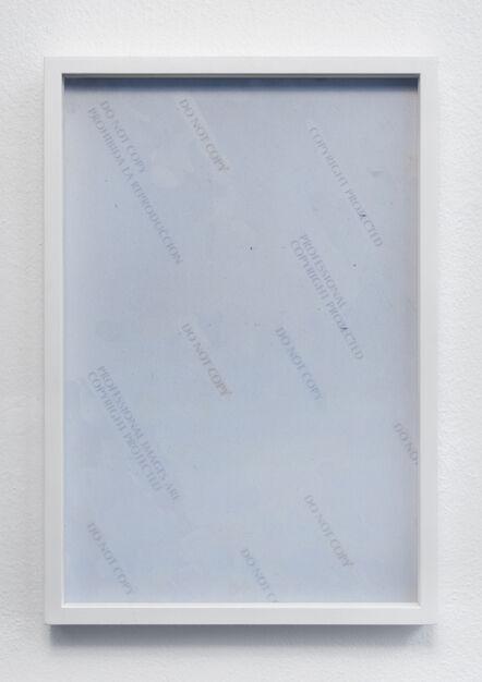 Simone Bergantini, 'PICS', 2014