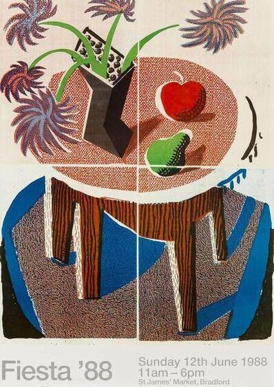 David Hockney, 'FIESTA', 1988