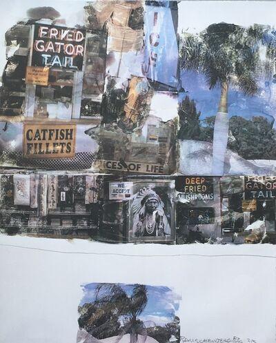 Robert Rauschenberg, 'Catfish Tails', 2000