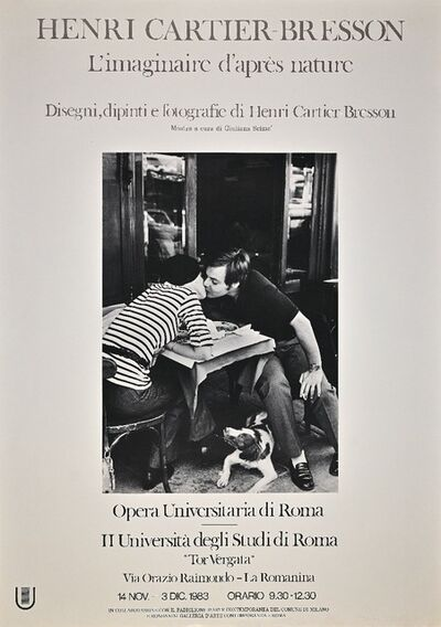 Henri Cartier-Bresson, 'Henri Cartier-Bresson Vintage Poster.', 1983