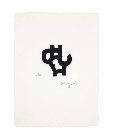 Eduardo Chillida, 'Baitan', 2001