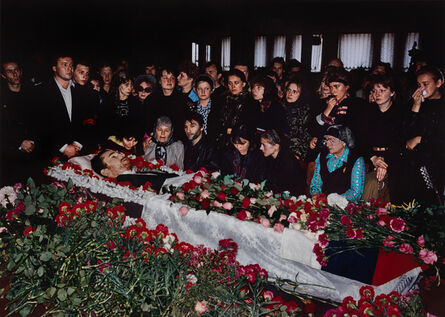 Keizo Kitajima, '9/10/1991 Moscow, Russian SFSR. Funeral of rock singer Igor Talkov. During a concert, he was shot to death by a gunman connected to the Mafia. He was a devoted Russian Orthodox Christian and is said to have been a member of the Pamyat...', 1991-printed 2001