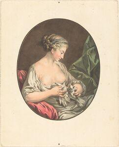 Jean-François Janinet after Jean-Jacques-François Le Barbier I, 'La Venus aux colombes'